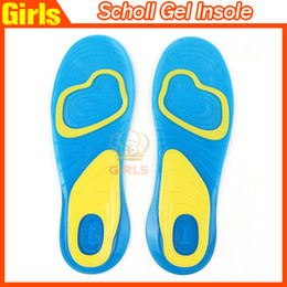 Wholesale NEW Scholl Activ Gel Insoles Foot Care Male Gel Activ Female Gel Activ Gel Insoles For Shoes Heel Knees Ankles Drop shipping