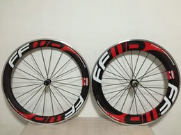 ffwd 60mm+ 88mm alloy brake Clincher Carbon wheels with road bicycle wheels 23m 700C full carbon road bike wheelset