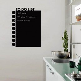 Wholesale quot TO DO LIST quot Letter Words PVC Removable Room Bedroom Vinyl Decal Art DIY Wall Sticker Home Decor Black