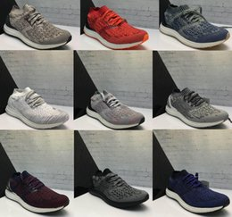 Wholesale New Style Ultra Boost Uncaged Running Shoes Wear For Men Women Breathable Low Cut Ultraboost Athletic Sport Sneakers