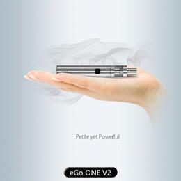 Nueva batería del eGo ONE V2 de la energía de la batería 1500mAh de Joyetech eGo UNA V2 cabida para el precio al por mayor del atomizador del tanque de Joyetech eGo UNO V2 desde precios al por mayor para las baterías del ego proveedores