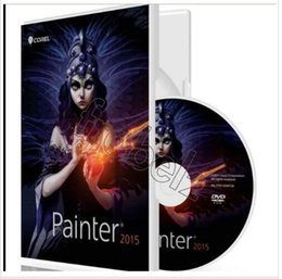 Wholesale 2015 New Color Box Package Corel Painter English version digital art software for MAC
