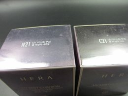 Wholesale HOT SALE HERA Whitening AIR CUSHION BB Cream Powder Makeup SPF PA concealer BB cream g send refill