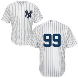 Wholesale Custom New Aaron Judge Jersey New York Yankees MLB Replica Jersey Stitched Name Number and Logos