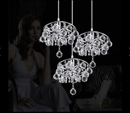 Crystal Pendant Lights 3Lights,Newly Free Shipping Modern Lighting G4 Crystal Lamp Ceiling Lamp Chandelier Lamp Restaurants Bedroom