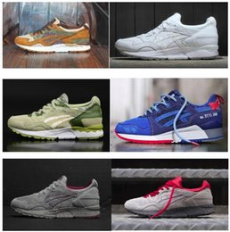 Wholesale Famous GEL Lyte V Sport Running Shoes Man Women BAIT Lyte V III Sneakers Gel Saga Athletic Shoes Outdoors Size
