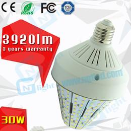 Wholesale 360 degree lighting angle E27 E26 E40 E39 w led corn bulb retrofit post top acorn street light