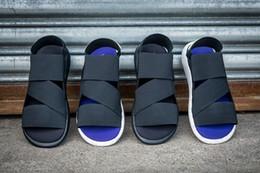 Wholesale 2016 Y3 Sandals Summer Outdoor Foot Tourism Cool Y3 Sandals Summer Men And Women Outdoor y3 SANDAL Elastic Sports Sandals QASA SANDAL