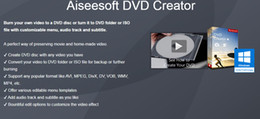Wholesale Good dvd edit tool easy to use Aiseesoft DVD Creator Full version