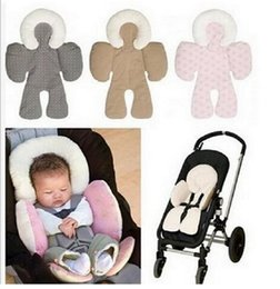 Wholesale Baby Head and Body Support Pillow New Warm Strollers Nursing Pillow Winter Car Seat Cushion Cute Baby Stroller Accessories