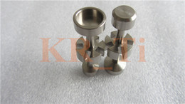Universal Domeless 18mm Titanium Nail with 5 gaps GR2 from KR_Ti for Smkoing Glass Bong VS Quartz Nail