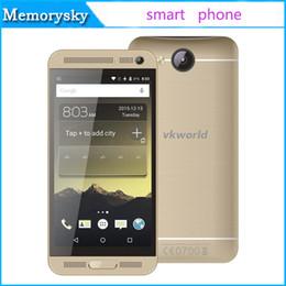 Nouveaux écrans de téléphone en Ligne-New VK800X MTK6580 Quad Core 5.0Inch IPS Téléphone portable à écran 1G RAM 8G ROM 3G Android 5.1 Téléphones déverrouillés Haute Qualité
