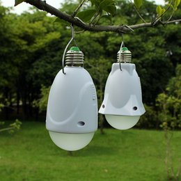 new Solar camping lamp tent lights outdoor adventure emergency lighting multifunctional LED bulb lamp camping lamp