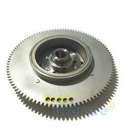 New 61T-85550-10-00 ROTOR ASSEMBLY,Flywheel Replaces For Yamaha Outboard Engine 25HP 30HP 61N 69P 61T Models Parsun T30