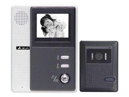 Wholesale Zhudele quot B W Flat CRT Monitor Video Doorphone Doorbell Intercom Two Way Audio