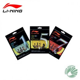 2016 Genuine Lining Badminton String of China National Team Durability Repulsion Power Li-Ning Badminton Racket String No.1 5 7