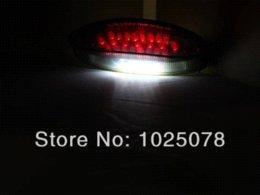 Wholesale Universal moke LED Tail Brake Light for Yamaha Banshee Warrior YFZ WR XT Motorcycle ATV