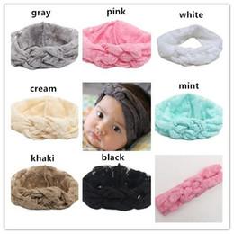 Kids Baby Lace Headbands Girls Elastic Stretchy Cross Headband Turban Head Wrap Newborn Photo Prop Hair Accessories Infant Elastic Headband
