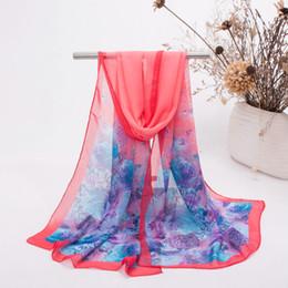 Wholesale 2016 The Supply Of New Fashion Chiffon Silk Scarves Gem Printing Gift Beach Towel
