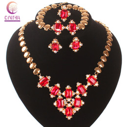 Exclusive sales 2016 Indian jewelry hot sale New arrival statement necklace Earrings african jewelry necklace earrings for women