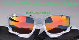 Le sport pc à vendre-Vente en gros - Lunettes de soleil de cyclisme de vélo de lunettes de soleil de 100% hommes Sport UV400 3 Lunettes de soleil de lunettes de soleil de lentille 24Color peut mélanger l'ordre
