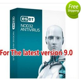 Wholesale Official website genuine ESET NOD32 Antivirus newest version half year pc user days key with user name and password