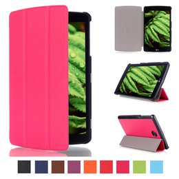 Wholesale Magnet Smart Stand pu Leather case cover For LG G Pad quot V498 Tablet cover case for lg g pad2 quot screen protector stylus