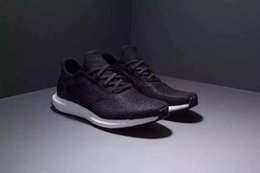 Wholesale 2016 New Futurecraft Tailored Fibre Men S Running Shoes Fashion Running Sneakers for Men Grey White Black