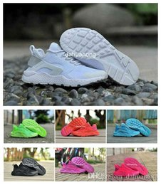 Wholesale 2015 Huaraches III Ultra Breathe Running Shoes For Men Women Lightweight Big Mesh Surface Huarache Air Cushion Athletic Trainers