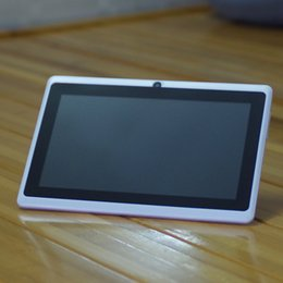 7 inch Allwinner A33 quad core Android 4.4 Tablet pc capacitive Q88 dual camera 512MB 4GB 8G P-3