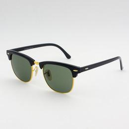 Retro Vintage Glass Lens Sunglasses Men Women Brand Sun glasses with original box