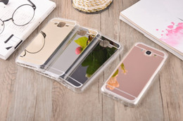 Wholesale Mirror Soft TPU Case Back Cover For Galaxy J5 J7 J1 ACE A3 A5 A7 S4 S5 S6 S7 Edge Plus Grand Prime G530 Case