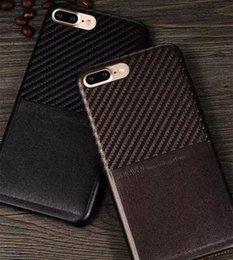 Wholesale 2016 New Product phone cases X level luxury ultra thin Carbon Fiber back case cover with card slot for iphone case CA1961