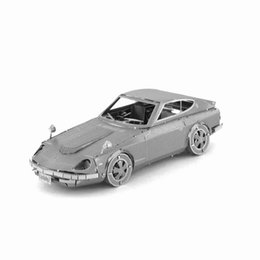 Wholesale 3D Puzzle Metal DIY Assembled Nissan Racing Car Old Fashion Cars Model Leisure Kill Time Handwork Best Gift For Children Kids