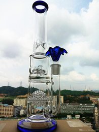 Wholesale 2016 New blue color glass water pipe inliner ball glass bongs glass dome bowl oil rig dabber glass bubbler water pipe hbking rasta steam