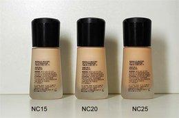 Wholesale Le visage chaud de maquillage Mineralize le liquide liquide Spf15 ML de l humidité freeshipping par le prix le plus cher de DHL de alina