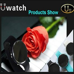 U Watch UU Smartwatch Bluetooth Watch Android Answer and Dial the Phone Passometer Altitude Meter Burglar Alarm Remote Capture