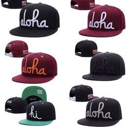 Wholesale 2016 HOT Newest Aloha Army snapbacks Caps Adjustable Fashion HIP HOP Hats Men Woman Sports Hats Basketball Hats Street Sun Hats Black