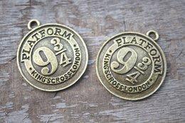 Wholesale 5pcs platform Charms Antique Tibetan bronze tone HP Charms penant x34mm