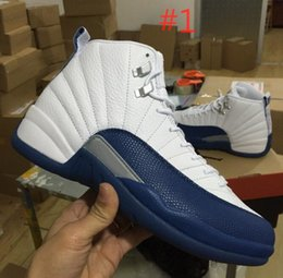 Wholesale 2016 New super quality Blue Retro Basketball Shoes Original box SIZE Needs half a yard please consult me