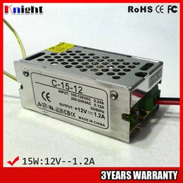 wholesale 15W 1.2A 12V led strip light Power supply, AC90-265V input voltage power supply for led flexible strip