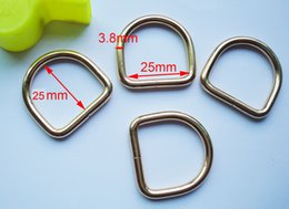 Wholesale mm Wide golden antique rust plating ferrous belt D rings buckle bag buckles garment accessories bag fasteners