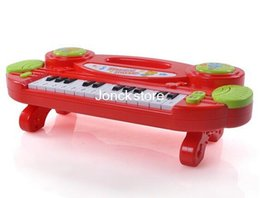 Wholesale 1438 music keyboard learning mode with light musical instrument infant early childhood educational toys small piano
