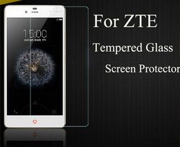 Wholesale ZTE Alcatel Coolpad Newest D H Tempered Glass Film for Zmax Pro z981 Warp Idol Fierce LG X Power On5 HTC with Retail Box