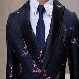 Wholesale Mens Suits Winter Men quot s Men s Expected Long Suit British Men s Suit Three piece Groom