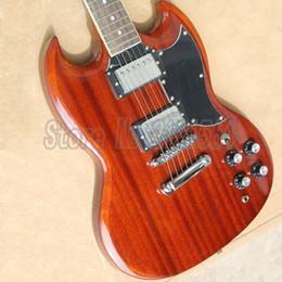 Livraison gratuite sg Guitares électriques G SG Guitare 6 cordes Pickups 2H 100% Reals China Costom Shop à partir de cordes sg fabricateur