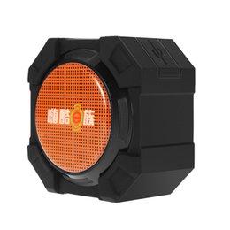 Wholesale Mini Wireless Bluetooth Speaker IPX5 Waterproof Outdoor Shower Loudspeaker W Acoustic Driver Hands free Mic Subwoofers Free DHL V2332