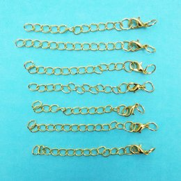 12mm lobster claw clasps Extended Extension Chains jump rings Tail Extender necklace charms Decoration jewelry Making connector hook bijoux