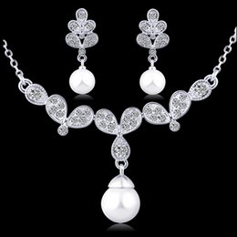 jewelry sets women fashion crystal bridal wedding african beads necklace earring Love party 18k gold plated butterfly jewelrys