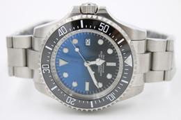 Wholesale Luxury Men s MENS SEA DWELLER DEEP Ceramic Bezel mm SEA Stanless Steel Clasp Year UNWORN Automatic High Quality Watches